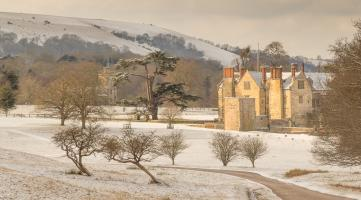 Wintry Parham by Janet Brown LRPS